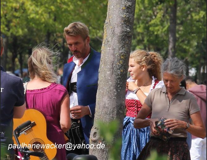 Sophia Fuchs am 26.08.2018 als Gast auf Nikolai Nerlings Geburtstagsfeier Quelle: Paul Hanewacker